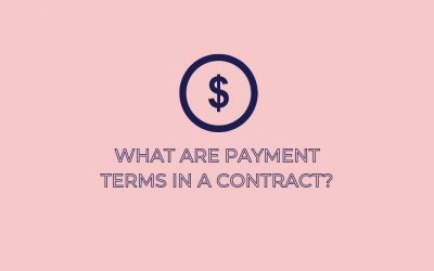 What Are Payment Terms In A Contract?