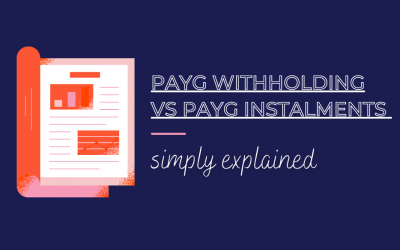 PAYG and PAYGI for small business explained
